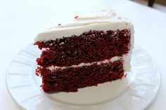 Easy Red Velvet Cake ~ Easy and impressed Red Velvet Cake for the holiday!