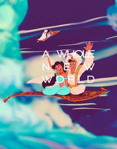A whole new world...