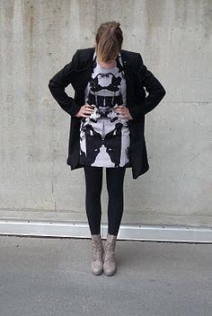 A Rorschach dress - can I make my own?
