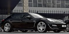 Porsche Panamera styling package by  A. Kahn Design
