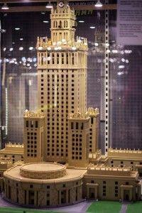 LEGO Pałac Kultury i Nauki w Warszawie justineyes.com #LEGO