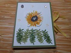Book Box Card zum 75. Geburtstag mit dem Stempelset Herbstanfang von Stampin Up