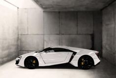 W Motors 3.4 million ultra-luxury LykanHypersport is the first Arabian supercar