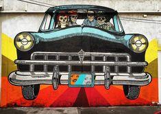 Festival de arte urbano Latidoamericano reúne a grafiteros de Colombia, México, Argentina y más | Cultura | Peru21 Street Art, Monster Trucks, Vehicles, Grande, Halloween, La Paz, Protest Art, Room Art, Modern Art