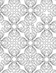 View More Images From Swirling Designs Coloring Book ArtistsClub