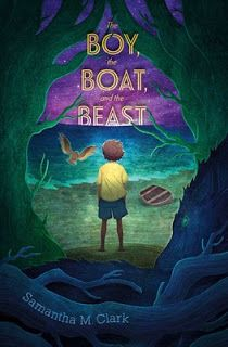 The Boy, The Boat, and The Beast (Paula Wiseman Books/Simon & Schuster) by Samantha M. Toddler Books, Childrens Books, Bakemono No Ko, The Graveyard Book, Adventure Novels, New Children's Books, Great Fear, National Book Award, Books For Boys