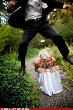 funny wedding photos - Alternative Marches