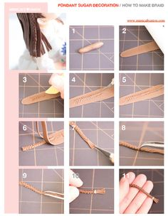 Fondant Braid Tutorial