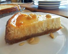 Ricotta cheesecake: Here's how you can have your cheesecake and eat it too. Swap out high calorie ingredients for reduced calorie versions. #cheesecake #dessert #recipe
