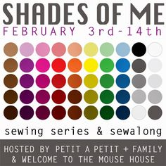 Welcome to the Mouse House: Shades of Me: A Series of Sewing for You