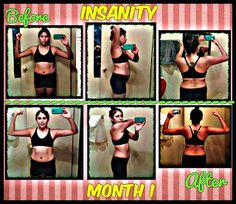 SOPHitness: INSANiTY Month 1 Results