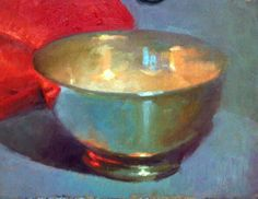 Silver Bowl Fall 2013 Cristopher L Cook MyPaintGallery.com
