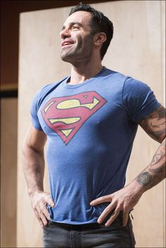 RAMIN♪POB He is certainly superman in my eyes ♡