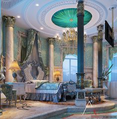 Luxury Master Bedrooms By Famous Interior Designers Luxury Rooms, Luxury Home Decor, Luxurious Bedrooms, Luxury Interior, Royal Bedroom, Master Bedroom Interior, Bedroom Decor, Master Bedrooms, Dream Home Design