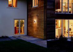 Ledvance LED wandlamp sensor RVS 6W | SameLight.eu Led Wand, Led Spots, Applique Led, Dark Grey, Facade, Garage Doors, Ceiling, Exterior, Modern