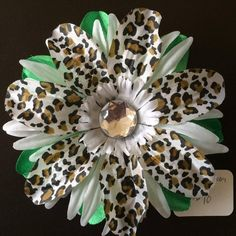 Hair Flower with attached alligator clip 10 by GrammaHGifts, $3.00