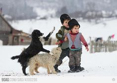 romania - winter on the street - iarna pe ulita Romania People, Kids Around The World, Countries Of The World, Animals For Kids, Cool Pictures, Childhood, Winter, Country, Moldova