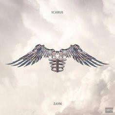 Icarus Falls is the ambitious second studio album from Zayn Zayn Album, Cd Album, Icarus Tattoo, Zayn Malik Lyrics, Icarus Fell, Autumn Tattoo, Cd Art, Midnight Memories, Fall Wallpaper