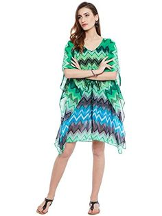 66b92784af1 Famous by Payal Kapoor Kaftan Dress  Amazon.in  Clothing   Accessories