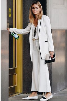 Olivia Palermo Brings His Style with The Fashion Weeks