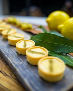 Intense citrus aroma and notes of grapefruit make lemon aspen a delight to add to desserts. Dust the tarts with crushed lemon myrtle for the full experience. Pastry Recipes, Tea Recipes, Lemon Curd Tartlets, High Tea Food, Native Foods, Pastry Cake, Pie Dessert, Bread Baking, Food And Drink