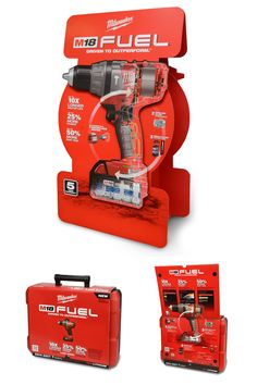 Category: B2B Promotional Product Materials. @BMAMilwaukee EXCELLENCE Award - Milwaukee Electric Tool FUEL POP/Packaging