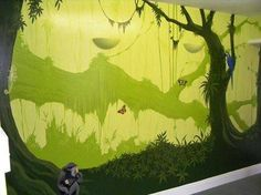 Experienced, professional mural artist who specializes in all murals, ranging from children's bedroom walls to large, exterior works of art.
