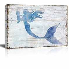 - Canvas Wall Art - Mother Mermaid Holding Baby Mermaid - 18 x 12 Baby Canvas, Love Canvas, Canvas Frame, Canvas Wall Art, Wall Art Prints, Canvas Prints, Canvas Pictures, Print Pictures, Living Room Decor Pictures