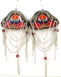 Sarchi Statement Suede Earrings... WOW deffenataly statement earrings.. Order now and get free shipping