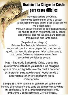 Spiritual Prayers, Spiritual Messages, Prayers For Healing, Prayer Scriptures, God Prayer, Prayer Quotes, Catholic Prayers In Spanish, Prayer For Anxiety, Everyday Prayers