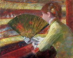 Mary Cassatt - Theater