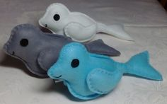 Felt Seal / Toy Seal / CE Tested Seal by DaisyFelts on Etsy