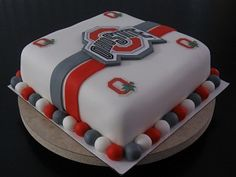 OSU cake... I WANT THIS FOR MY BIRTHDAY!