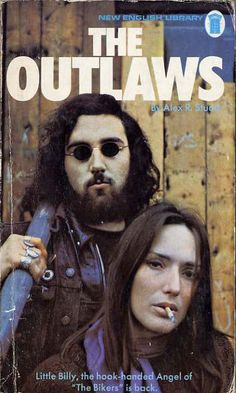 The Outlaws by Alex R. Immoral Tales, Comic Book Covers, Comic Books, Biker Movies, Motorcycle Posters, Motorcycle Clubs, English Library, Rock Festivals, Pulp Magazine