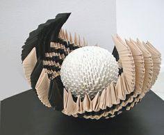 """Reveal"" paper sculpture"