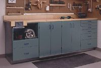 Full-Service Workbench, Part Full-Service Workbench, Part 1 Woodworking Plan from WOOD Magazine Garage Workbench Plans, Workbench Stool, Building A Workbench, Workbench Designs, Folding Workbench, Woodworking Books, Learn Woodworking, Woodworking Workbench, Woodworking Furniture