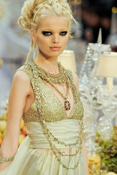 """""""Daphne Groeneveld at Chanel Pre-Fall 2012"""""""