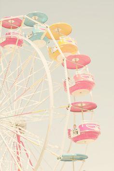 Ferris Wheel - makes me want to go to California
