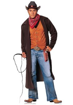 Adult Gunslinger Cowboy Costume