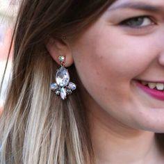 Petal Leaf Drop Earring $24 sparkleandwhim.com sparkleandwhim's photo on Instagram