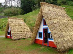 The lovely houses of Santana