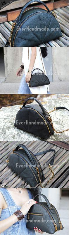Handmade small handbag phone purse leather crossbody bag