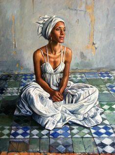 Santera II by Noel Bensted in USEUM