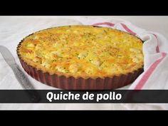 Quiche de pollo con verduras - YouTube