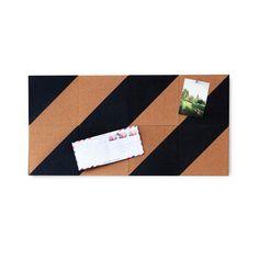 8-Pc. Bold Stripe Cork Board   dotandbo.com