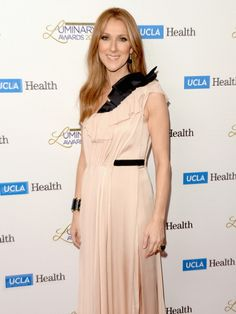 Musician Celine Dion attends the UCLA Head and Neck Surgery Luminary Awards at the Beverly Wilshire Four Seasons Hotel on January 22 2014 in Beverly...