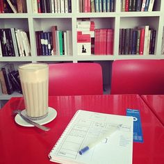Dot Grid Notebook - the best for designers. Saturday morning with coffee and ideas!