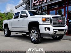 GMC Sierra Denali 2500 with 20in Ultra Goliath Wheels | by Butler Tires and Wheels