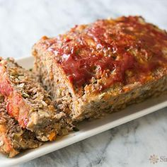 Classic Meatloaf Recipe - Simply Recipes & ZipList