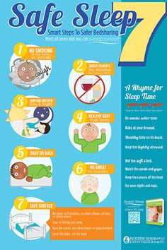 7 easy to remember safe co-sleeping tips from La Leche League